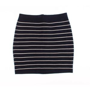 New Band Of Outsiders Boy Striped Knit Mini Skirt